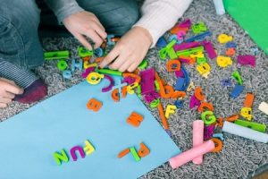 Learning fun with letters
